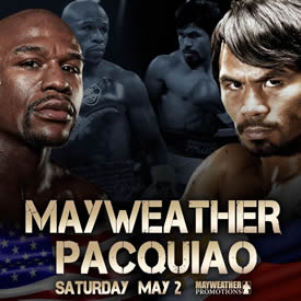 Floyd Mayweather vs. Manny Pacquiao - May 2nd, 2015